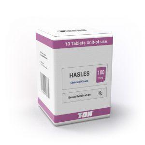 HASLES Виагра (10 таблетки по 100 мг силденафил) - Zob.BG
