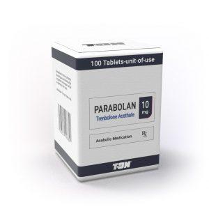 Parabolan (Тренболон ацетат на таблетки), 100х10 мг - Zob.BG