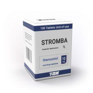 Stromba (Станозолол) - 100 таблетки по 10 мг - Zob.BG