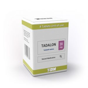 Tadalon T-ON (Cialis, тадалафил) - 8 таблетки - Zob.BG