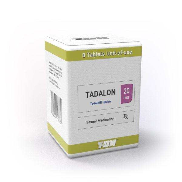 Tadalon T-ON (Cialis, тадалафил) - 8 таблетки - Zob.BG