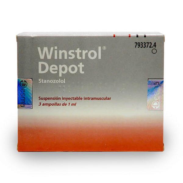 Winstrol Depot - Desma (3 ампули по 50 мг Stanozolol)