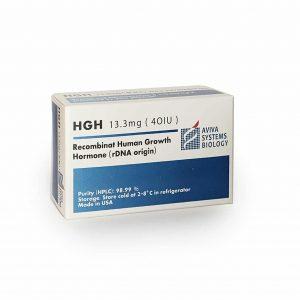 HGH Aviva Соматропин - 13.3mg (40IU) - Zob.BG