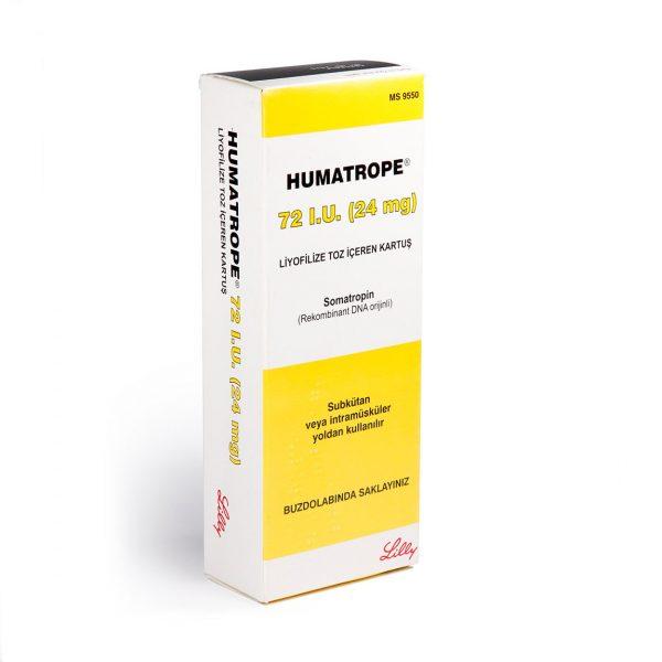 Хуматроп (HGH) - Humatrope Lilly 72 IU - Zob.BG