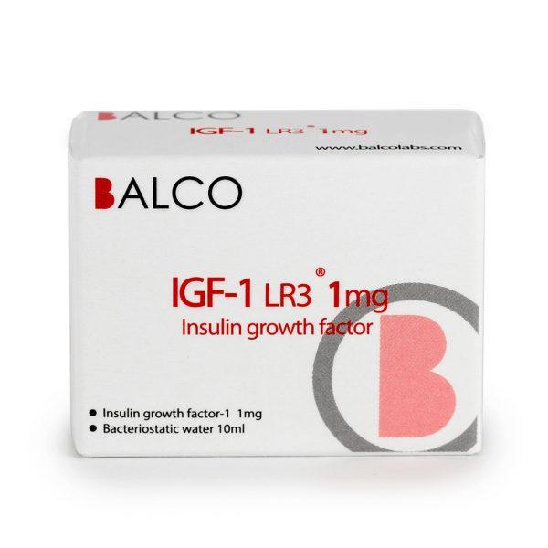 IGF-1 Balco LR3 - 1mg Insulin growth factor - Zob.BG