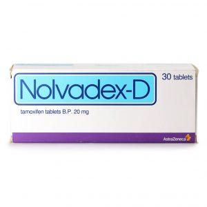 Нолвадекс-Д (Tamoxifen tablets) - 30 табл. по 20 мг - Zob.BG