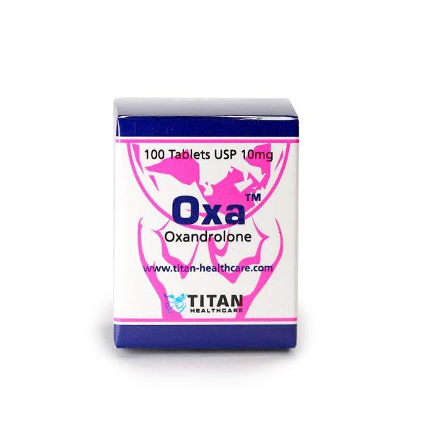 Oxa Titan Healthcare (Анавар 100х10мг) - Zob.BG