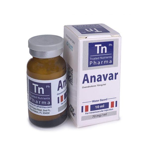 Инжекционен Анавар - TN Pharma (700 mg Oxandrolone) - Zob.BG