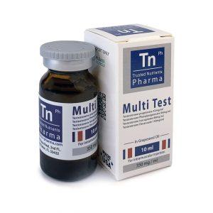 Multitest TN Pharma (Тестостеронов микс) 3500 мг - Zob.BG